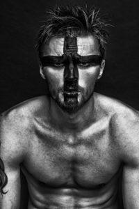 maquillaje de guerra