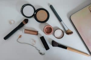 maquillaje muestras y base de maquillaje